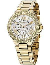 SO & CO New York Reloj 5019.3 Dorado
