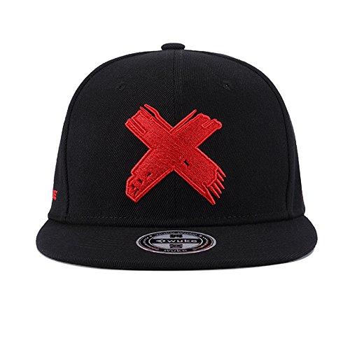 Imagen de  hip hop negro ajustable mujeres hombres sombreros primavera verano  de béisbol x bordado alternativa