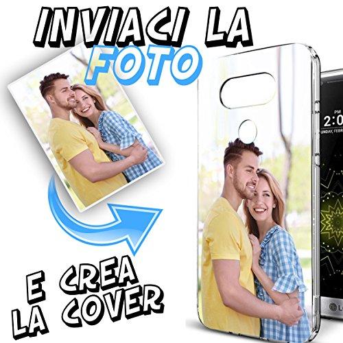 Cover Custodia Personalizzata con Foto o Scritte a Piacere per LG Q6...