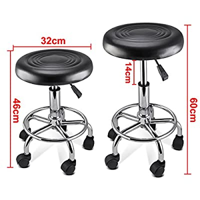 Popamazing Massage Tattoo Beauty Salon Swivel Gas Lift Stool Chair - inexpensive UK light store.