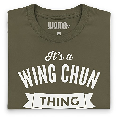 It's A Wing Chun Thing T-Shirt Funny Novelty Gift, Herren Olivgrn