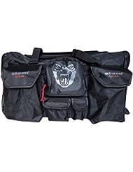 OKAMI Fightgear Sporttasche Martial Arts Sportsbag - Bolsa para material de artes marciales, color negro / rojo, talla Talla única