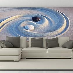azutura Ying Yang Fototapete Entspannung Tapete Schlafzimmer Badezimmer Wohnkultur Erhältlich in 8 Größen XX-Groß Digital