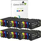 24 (6 Ensembles) Colour Direct Compatible Cartouches d'encre Remplacement Pour HP 953XL/957XL - HP Officejet Pro 7740 8210 8218 8710 8715 8716 8718 8720 8725 8728 8730 8740 Imprimantes ( L0S70AE F6U16AE F6U17AE F6U18AE )