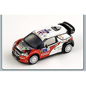 Spark Model S3304 Citroen DS3 WRC N.11 4th México Rally 2011 1:43 Auto Rally