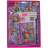 Parteet New Mix Stationery Gift Set With Writing Board And Metal Pencil Box For Kids(Sofia)