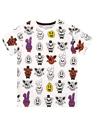 Five Nights at Freddy's Boys Five Nights at Freddy's T-Shirt Age 7 to 8 Years