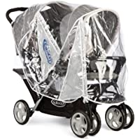 Graco Stadium Duo Tandem Pushchair Raincover - ukpricecomparsion.eu