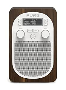 Pure Evoke D2 Portable DAB/FM Radio - Walnut