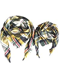 324f0f546cb Amazon.fr   Argenté - Foulards   Echarpes et foulards   Vêtements