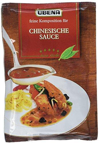 Ubena Chinesische Sauce, 6er Pack (6 x 40 g)