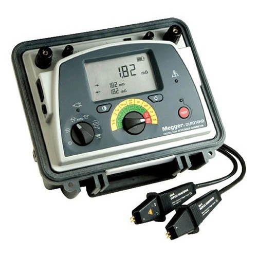 Megger 1006-604 DLRO10HD Low Resistance Ohmmeter, KC1-TL3-C