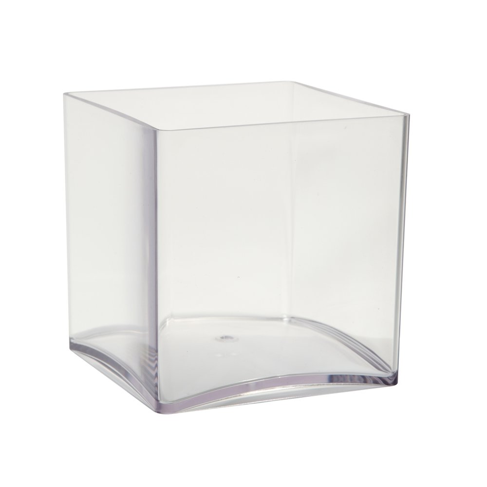 Oasis clear acrylic cube vase 15cm by smithers oasis amazon oasis clear acrylic cube vase 15cm by smithers oasis amazon garden outdoors reviewsmspy