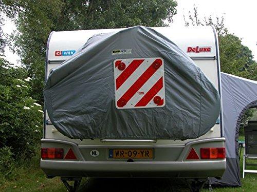 Euro Trail Fahrradschutzhülle für Caravanfahrradträger 2 Fahrräder