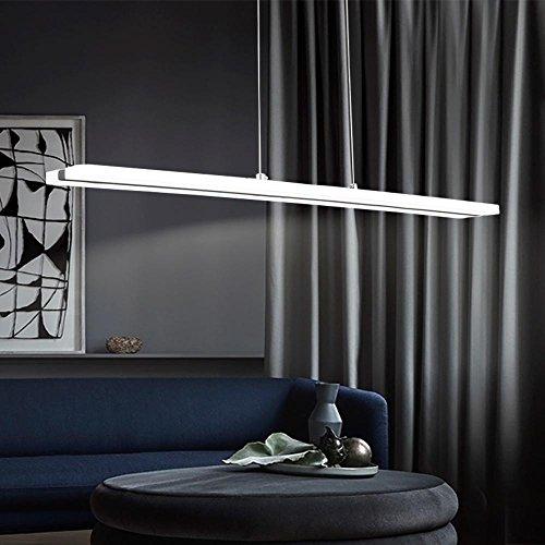Lampadari, Lampadario LED,Moderna Lampada a sospensione regolabile,LIUSUN LIULU® 38W LED Lampadari a soffitto,6000K(Bianco Freddo)