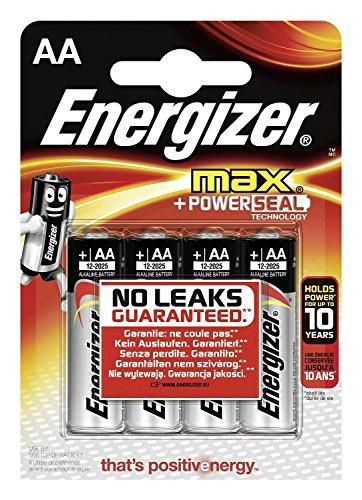 Energizer 12Stück je 4Batterien Max LR6AA - 4 Aa Energizer Max Batterien