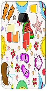 Timpax protective Armor Hard Bumper Back Case Cover. Multicolor printed on 3 Dimensional case with latest & finest graphic design art. Compatible with HTC M9 Design No : TDZ-25029