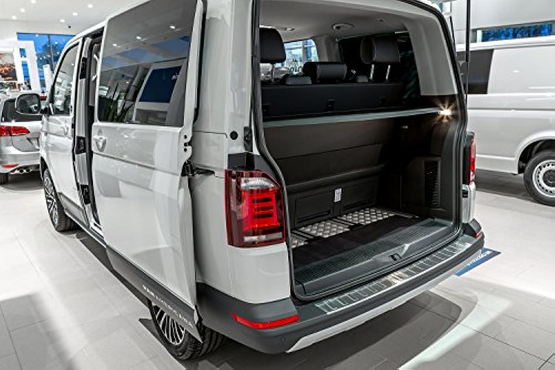 avec Logo Original r/ésistants aux intemp/éries Volkswagen 7H1061502B82V Lot de 2 Tapis de Sol en Caoutchouc Noir T5//T6