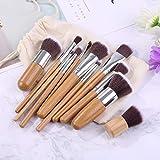 Qewmsg 11 Griff Make-up Pinsel Tool Set Basis Pinsel Make-up Komplettset