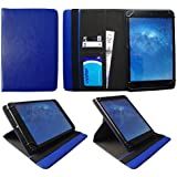 ONDA V919 Air 9.7 Pulgadas Tablet Azul Universal 360 Grados de Rotación Cuero PU Funda Carcasa Case Cover de Sweet Tech