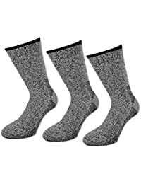 1 bis 8 Paar Arctic Thermo Socken Wolle - Herren Woll Socken - 8548