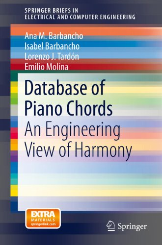 Database of Piano Chords: An Engineering View