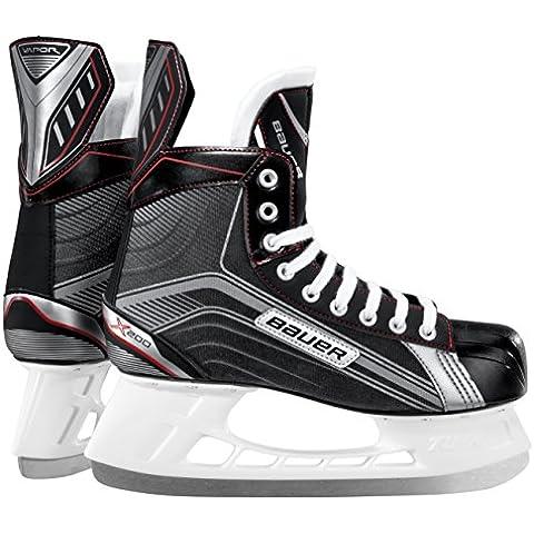 Bauer patines de hielo para hombre vapor X 200, otoño/invierno, color Negro - negro, tamaño 8