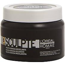 L'Oréal Professionnel Homme - Sculpte Force 3 - Pasta Fibrosa modeladora - 150 ml