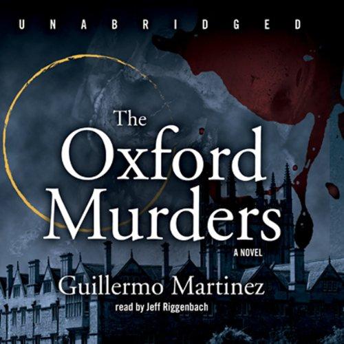 The Oxford Murders  Audiolibri