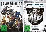 Transformers - Kinofilme 1+2+3+4 im Set (Trilogy + DVD 4) - Deutsche Originalware [4 DVDs]