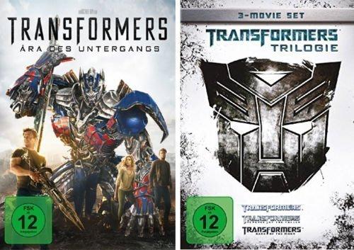 Transformers - Kinofilme 1+2+3+4 im Set (Trilogy + DVD 4) - Deutsche Originalware [4 DVDs] (Transformers Dvd Box Set)