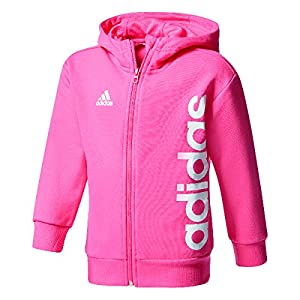 adidas Kinder Little Full Zip Hoodie