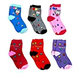 Light Gear Premium Cotton Woolen Mix Baby Boys/Girls Socks (1 to 5 Yrs) Pack of 6 Pairs (6-7 Years)