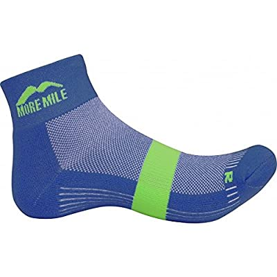 3 Pairs More Mile Unisex Preventer Dual Skin Running Socks 2 Colours