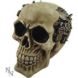 Nemesis Now–Steampunk diseño cráneo calavera figura decorativa