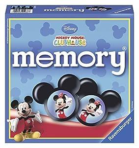 Linenideas Ravensburger Disney Mickey Mouse Club House - Juego de Memoria y Puzzle