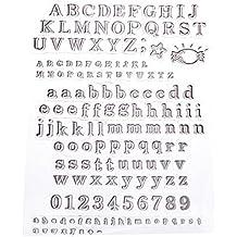 Artemio sellos de letras IV, translúcido