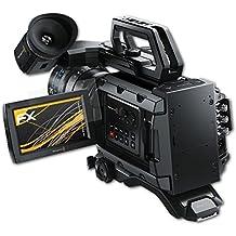 atFoliX Screen Protector for Blackmagic Design URSA Mini Screen Protection Film - 3 x FX-Antireflex anti-reflective Protector Film