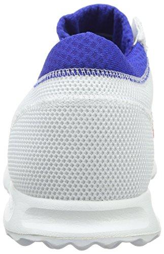 adidas Los Angeles, Scarpe da Ginnastica Uomo Bianco (Ftwr White/Ftwr White/Bold Blue)