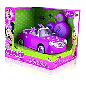 imc toys voiture radio command minnie maison de mickey rc. Black Bedroom Furniture Sets. Home Design Ideas