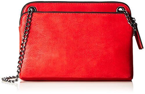 s.Oliver (Bags Damen 39.711.94.7958 Umhängetasche, Rot (Cayenne Red), 4.5x17x24 cm