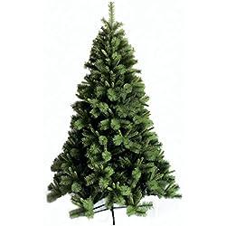 Galileo Casa Árbol de Navidad de 250cm de altura, en verde claro, de plástico y metal