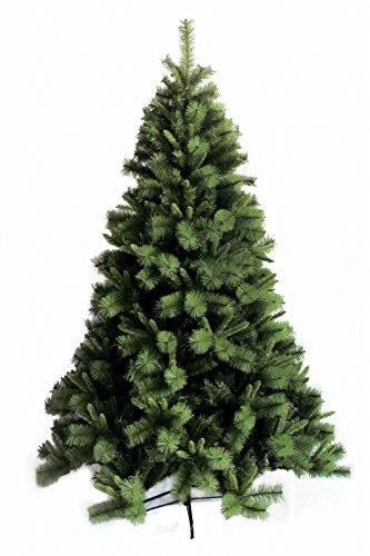 Galileo Casa Albero di Natale verde chiaro, altezza 250 cm, plastica e...