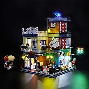 BRIKSMAX Kit di Illuminazione a LED per Lego Creator Negozio degli Animali And Café,Compatibile con Il Modello Lego… 0716852280759 LEGO