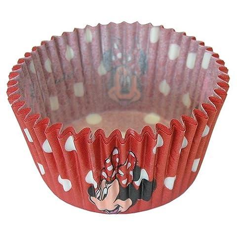 Disney Minnie Mouse Caissettes pour cupcakes, Lot de 24