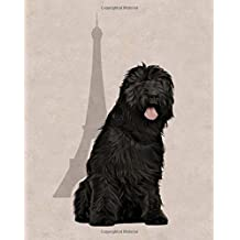 Briard: Artified Pets French Dog Journal/Notebook/Diary