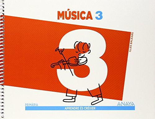 Música 3. (Aprendre és créixer) - 9788466790215
