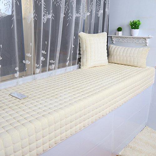 New day®-Flanella finestra materasso anti - scivolo divano tappeto tatami , 100*150cm