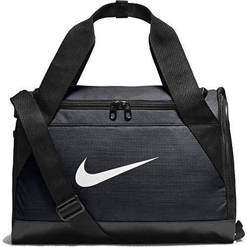 Nike Unisex– Erwachsene NK BRSLA XS DUFF Klassische Sporttaschen Black/White, Einheitsgröße