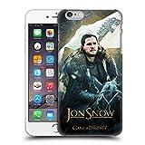 Offizielle HBO Game Of Thrones Jon Snow Pferd Battle Of The Bastards Ruckseite Hülle für Apple iPhone 6 Plus / 6s Plus
